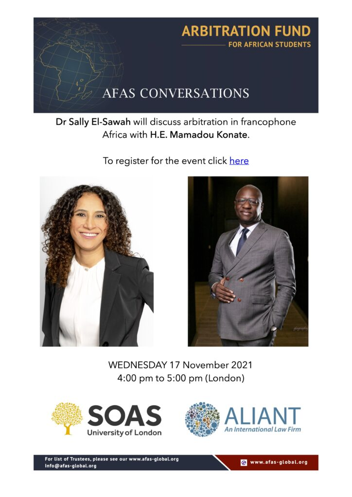 AFAS in Conversation with H.E. Mamadou Konate